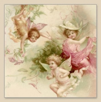 Napkins 33x33 cm - Fairies