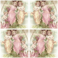 Servietten 33x33 cm - Decoupage Fairies