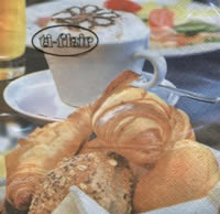 Servietten 25x25 cm - Breakfast Delights