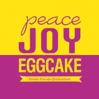 Lunch Servietten Peace JOY Eggcake