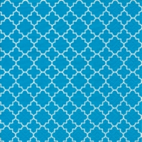 Lunch Servietten Quattrefoil Lattice teal