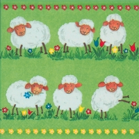 Lunch Servietten Funny Sheep