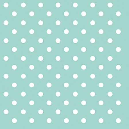 Cocktail Servietten DOTS AQUA