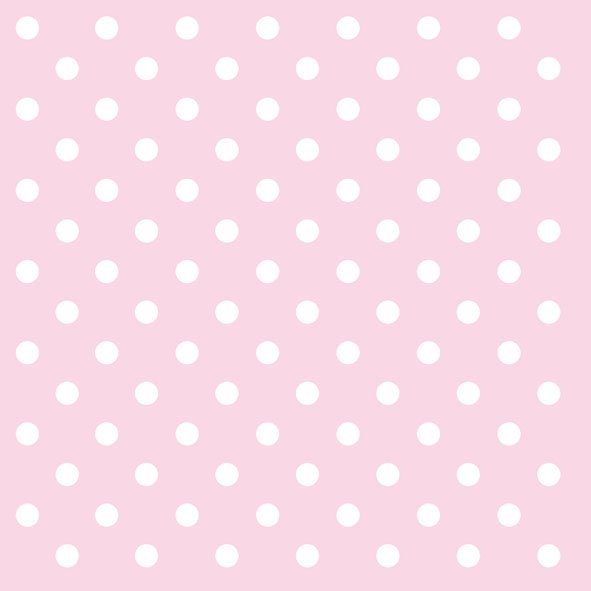Lunch Servietten Pastel Dots Rose