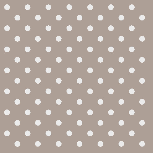 20 Servietten - 33 x 33 cm DOTS TAUPE,  Sonstiges - Muster,  Everyday,  lunchservietten,  Punkte,  Kreise