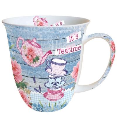 Servietten nach Jahreszeiten,  Tassen,  Tee