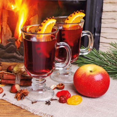 Cocktail Servietten Glühwein