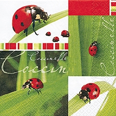 Lunch Servietten Coccinelle