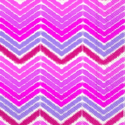 Cocktail Servietten IKAT STRIPE pink