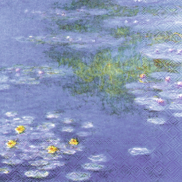 Lunch Servietten MONET : WATERLILIES
