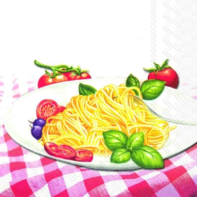 Servietten / Pasta,  Essen - Pasta,  Everyday,  lunchservietten,  Nudeln,  Spaghetti
