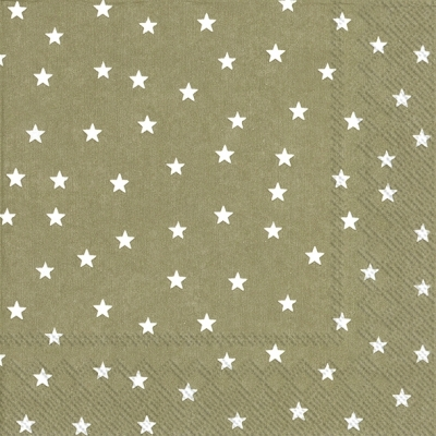 Lunch Servietten LITTLE STARS linen