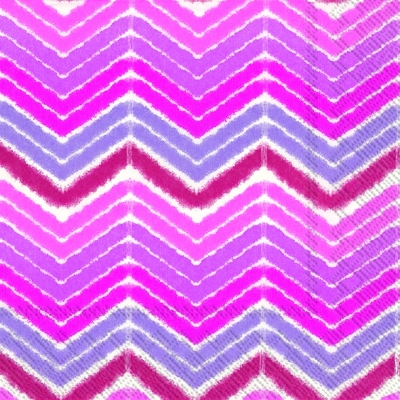 Lunch Servietten IKAT STRIPE pink