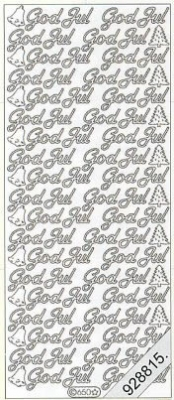 Stickers Text Stickers -  dansk - gold