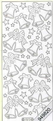 Starform, silber,  Art - Stickers Glitter transparent,  Art - Glitter Sticker,  Stickers Glitter transparent