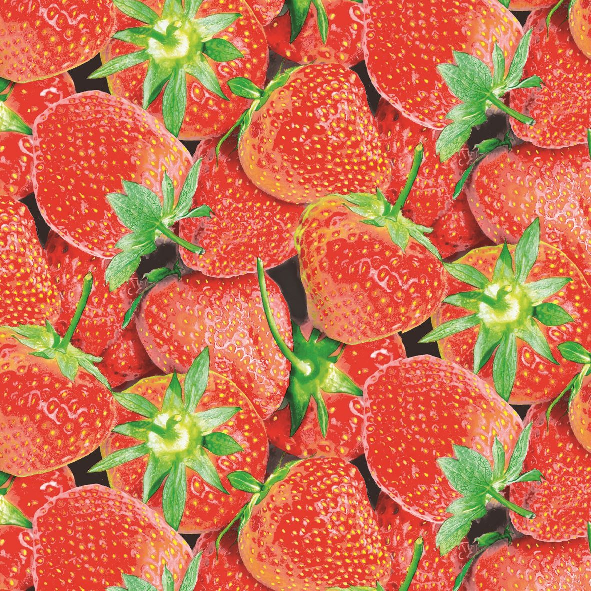 Tissue Servietten 25x25 cm - STRAWBERRY