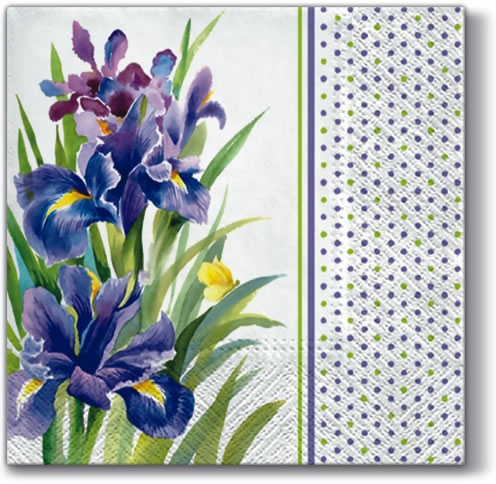 Servietten 33 x 33 cm,  Blumen -  Sonstige,  Everyday,  lunchservietten