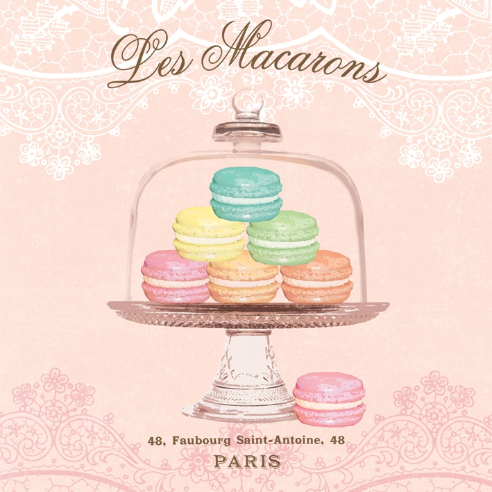 Lunch Servietten Les Macarons