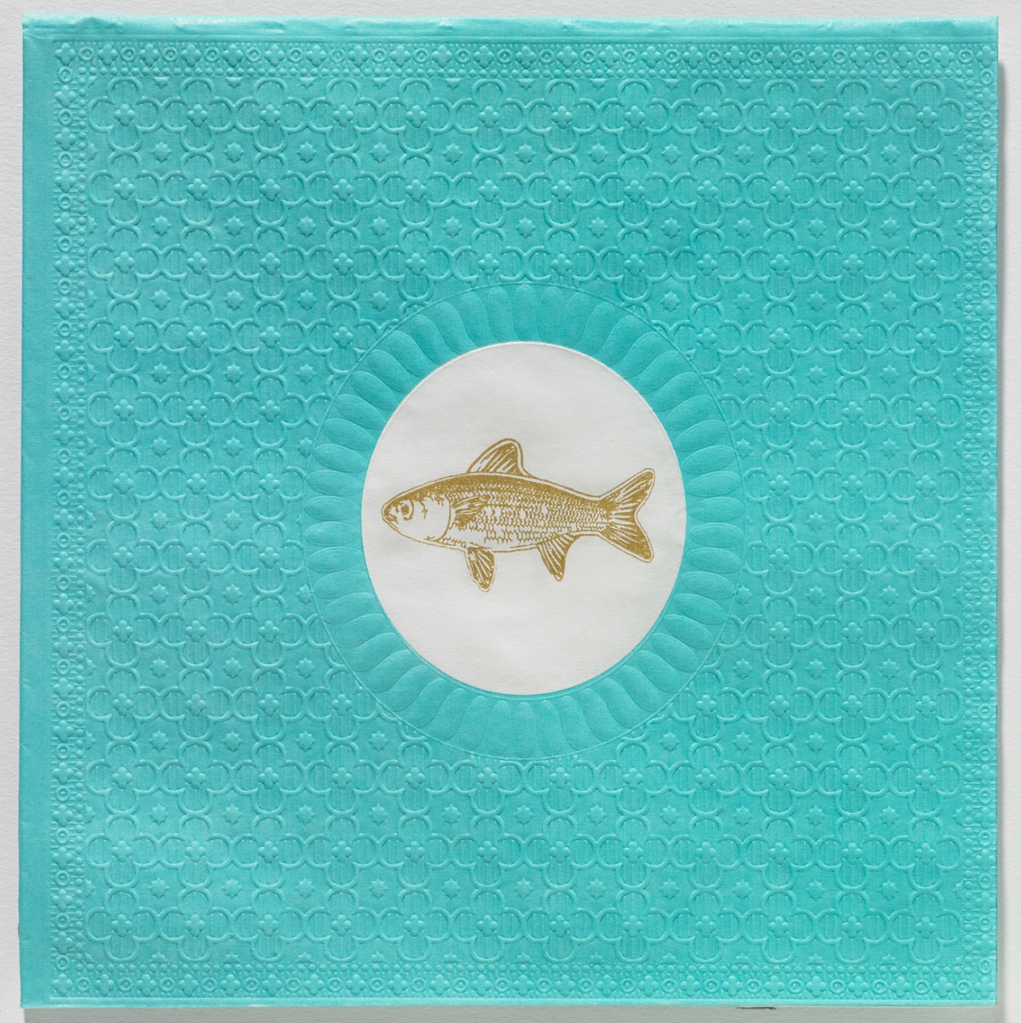 Paperproducts Design,   geprägte Servietten,  Tiere - Fische,  Everyday,  lunchservietten,  Fische