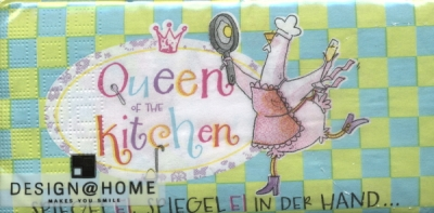 Buffet Servietten Queen of Kitchen Bistro
