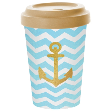 Bamboo mug To-Go - Welcome Anchor