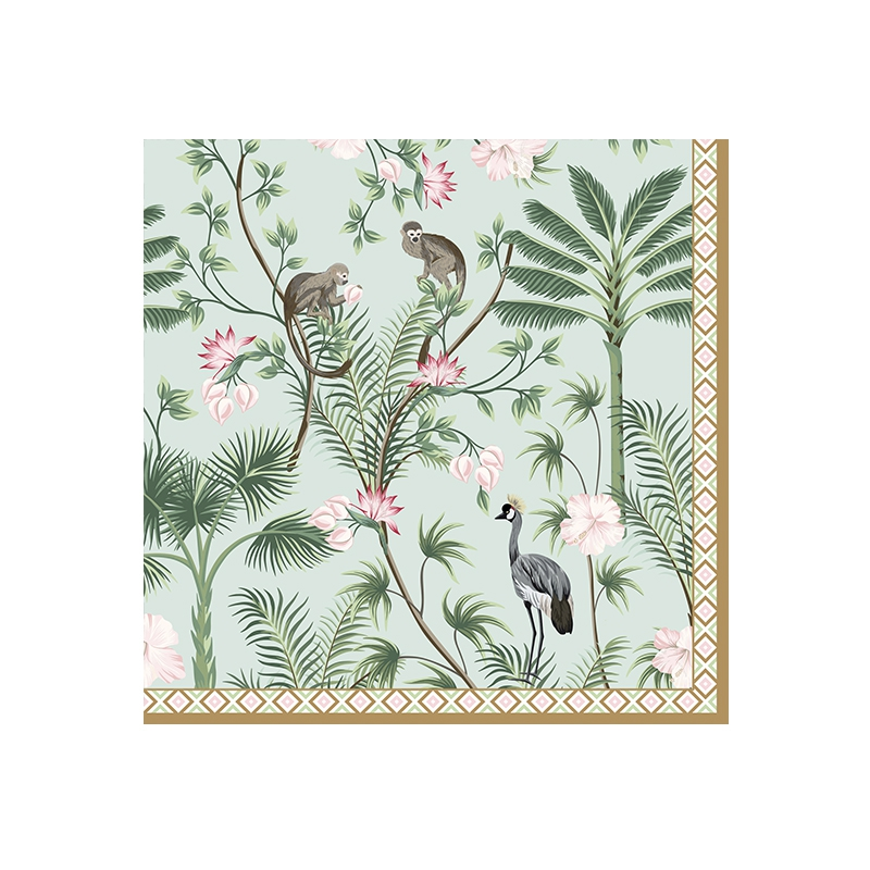 Napkins 33x33 cm - Wild Tropical