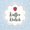 Servietten 25x25 cm - KAFFEE KLATSCH light blue
