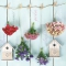 Servietten 33x33 cm - Bird Houses & Garden Flowers