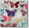 Servietten 33x33 cm - Romantic Butterflies